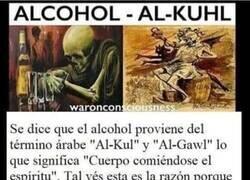 Enlace a Etimología del alcohol