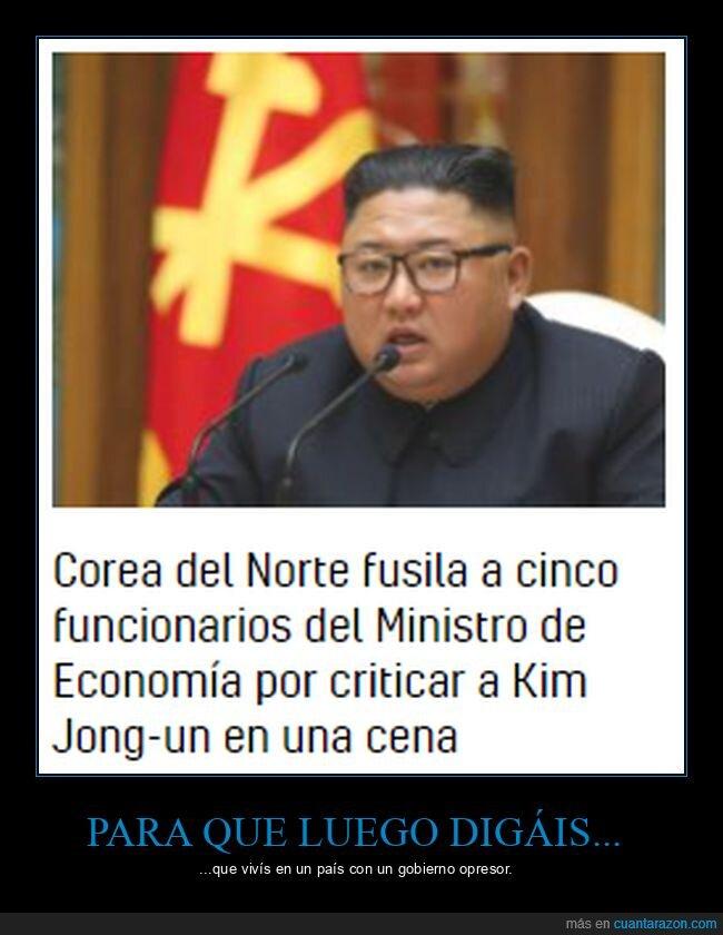 corea del norte,criticar,funcionarios,fusilar,kim jong-un