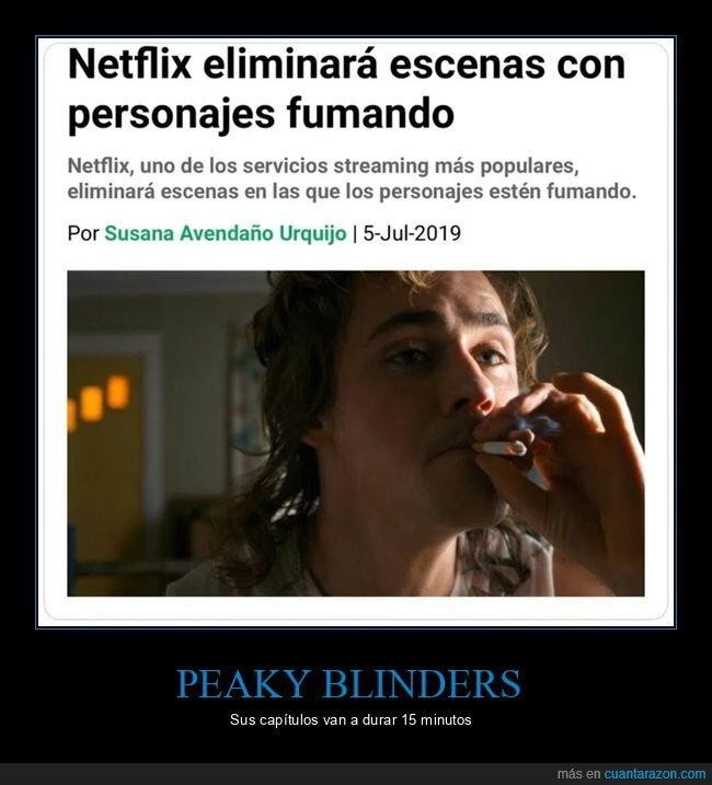 fumar,netflix,peaky blinders