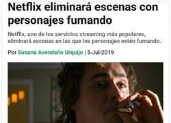 Enlace a Netflix sabe cómo protegernos de la realidad