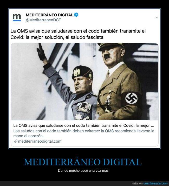 codo,mediterráneo digital,saludar
