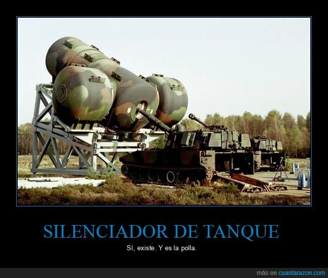 silenciador,tanque
