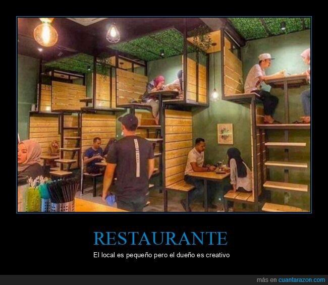 espacio,pequeño,restaurante