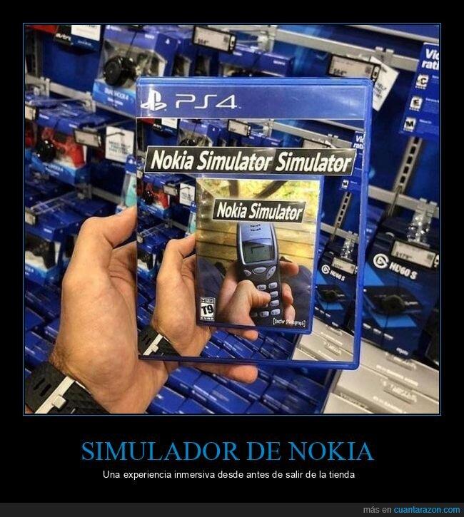 nokia,simulador,videojuego,wtf