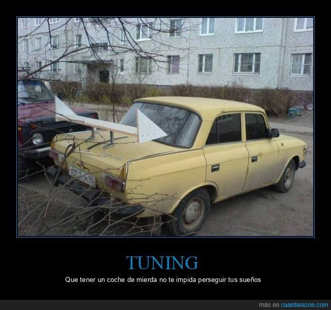 alerón,coche,cutre,tuning