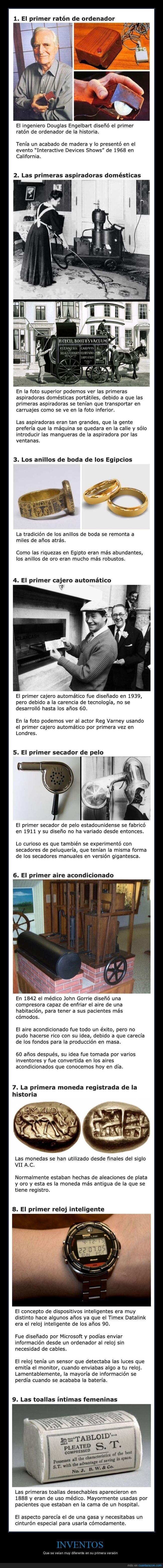 inventos,primera versión