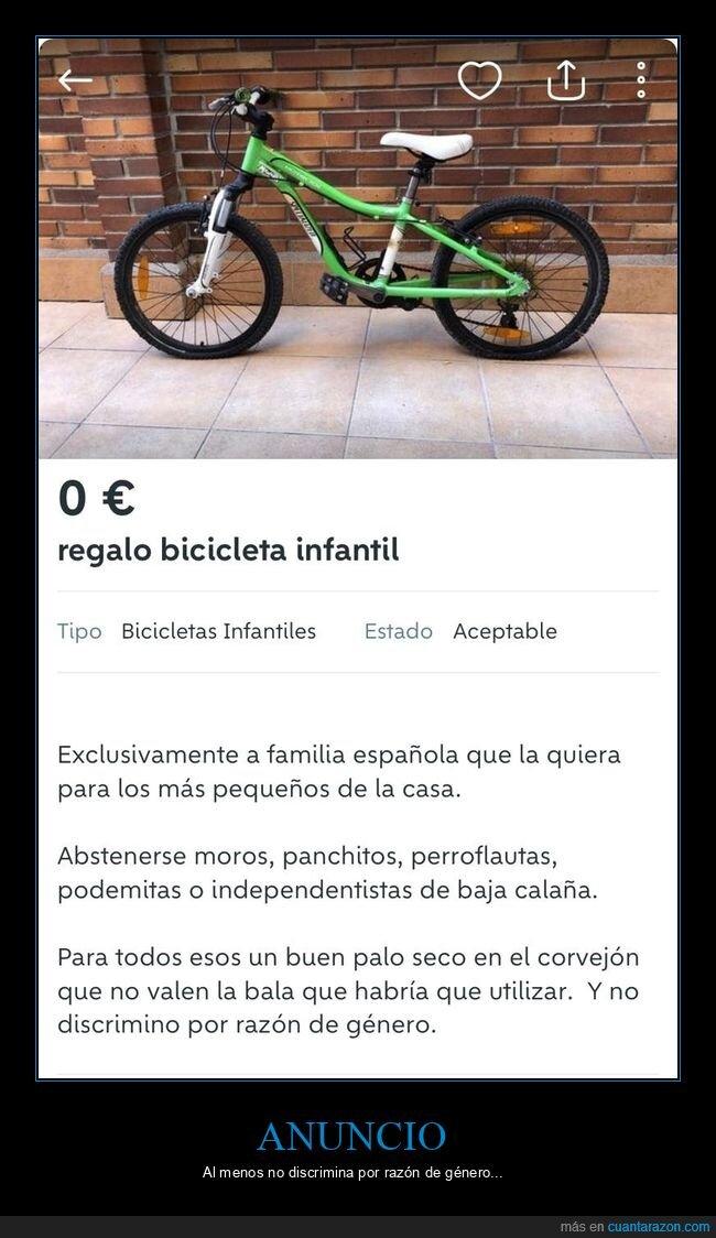 anuncios,bicicleta,personajes