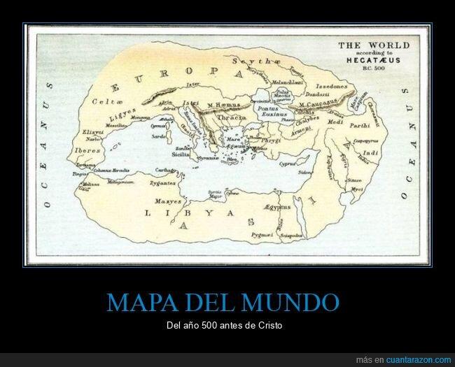 500 ac,mapa,mundo