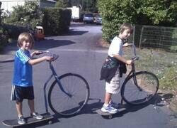 Enlace a Bicicletas híbridas