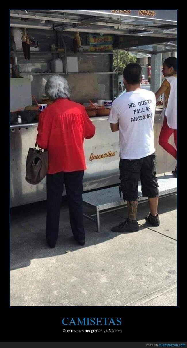 abuela,camiseta,wtf