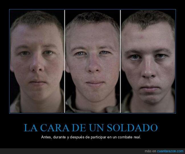 cara,guerra,soldado