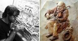 Enlace a Obras de arte increíbles hechas en madera y con un alto nivel de detalle