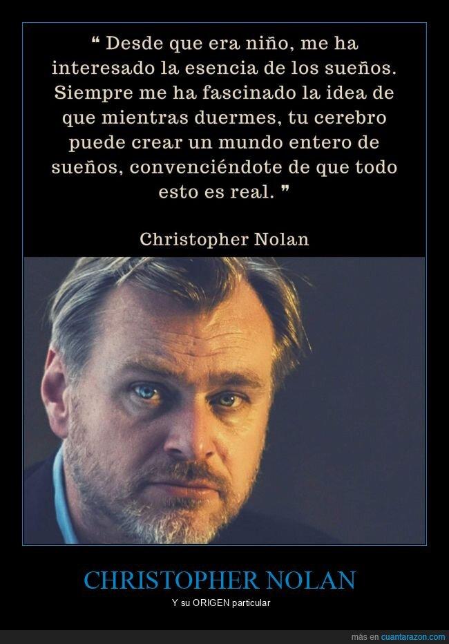 christopher nolan,origen,sueños