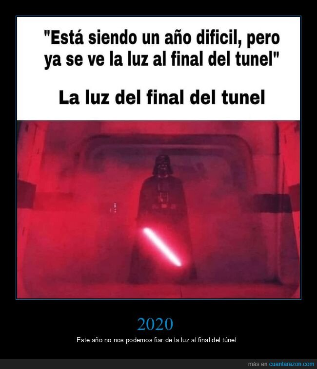 2020,darth vader,luz al final del túnel,rogue one,star wars