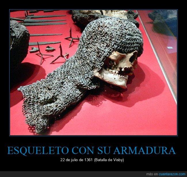 armadura,curiosidades,esqueleto