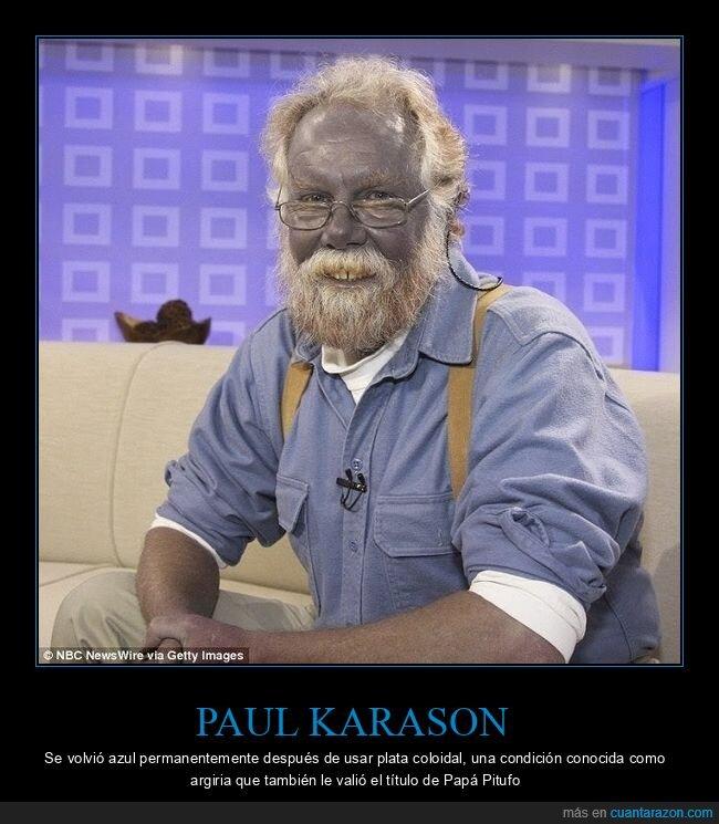azul,papá pitufo,paul karason,wtf