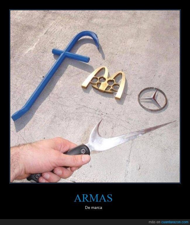 armas,marcas