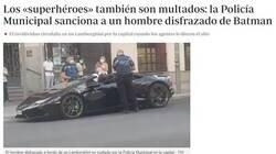 Enlace a Ni Batman se libra de las multas