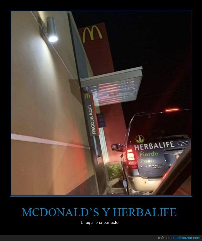coches,herbalife,mcdonald's,perder peso