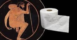 Enlace a Cosas que utilizábamos para limpiarnos el culo antes del papel higiénico