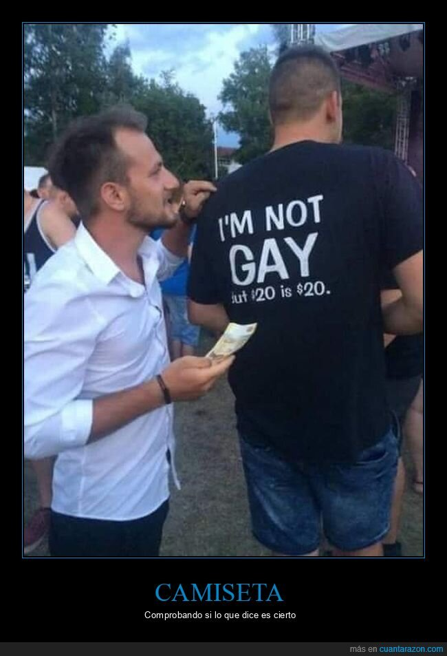 camiseta,dinero,gay
