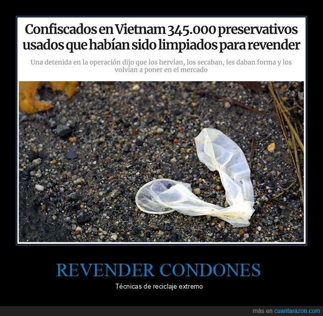 condones,SuperDetective,usados,vender