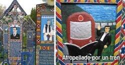 Enlace a El cementerio rumano con más de 800 tumbas que hacen bromas de sus difuntos