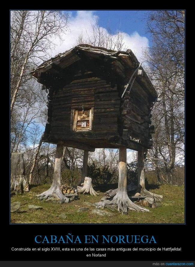 antigua,casa,curiosidades,noruega