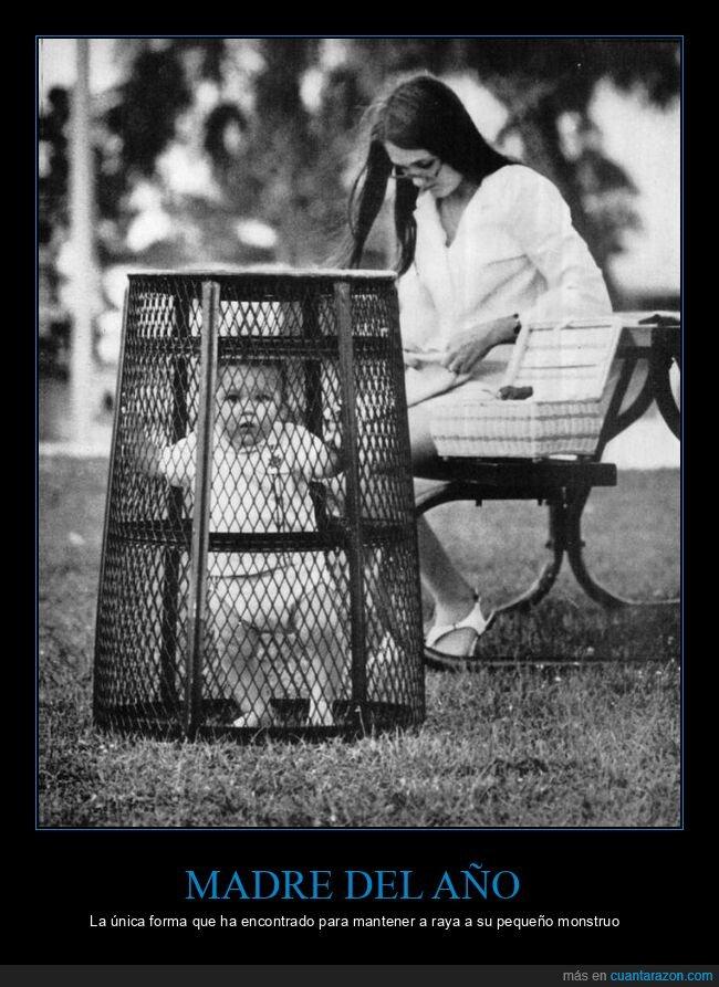 madre,niño,papelera,wtf