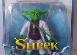 Enlace a Shrek se ha hecho jedi