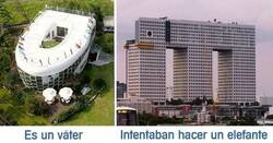 Enlace a Arquitectos que se empeñaron en hacer un edificio feo del que hablara todo el mundo, y lo consiguieron