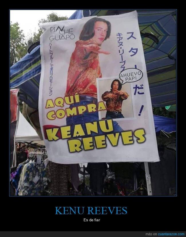 carteles,comprar,keanu reeves