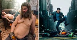 Enlace a Maestro del Photoshop usa la edición digital para introducirse en sus películas favoritas