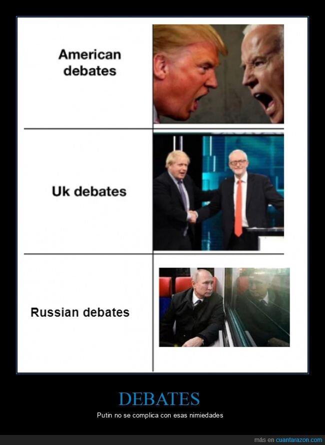 debates,eeuu,políticos,putin,reino unido,rusia