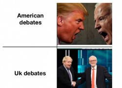Enlace a Debates políticos en distintos países