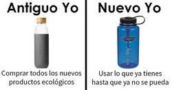 """Enlace a Memes de """"Antiguo yo VS Nuevo yo"""" que te ayudarán a reducir desperdicios"""