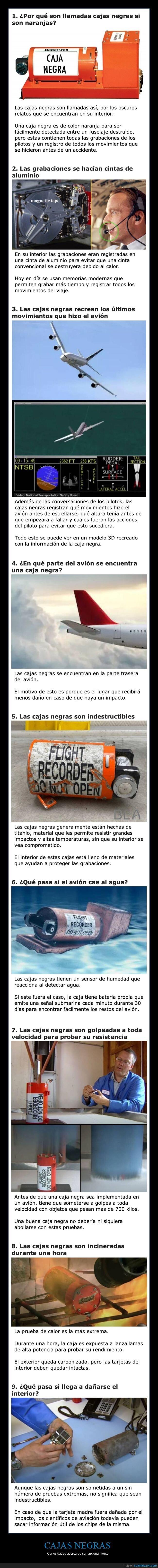 aviones,caja negra,curiosidades