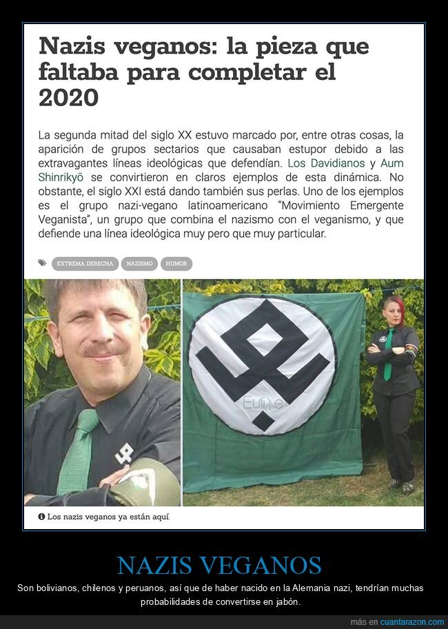 nazis,veganos,wtf