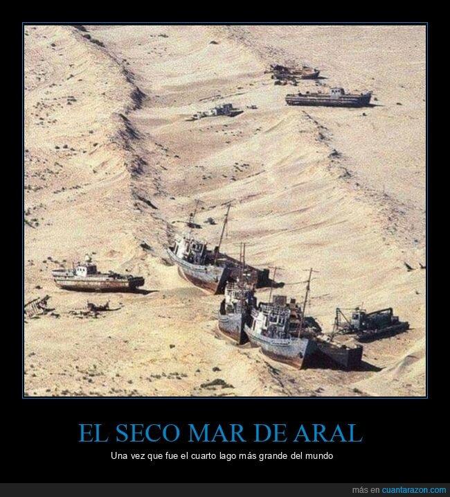 mar de aral,seco
