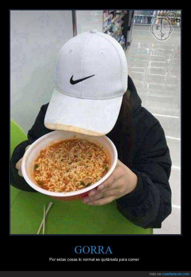 comida,fails,gorra