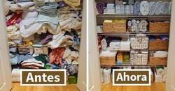 Enlace a De los mejores trucos de personas que saben lo que hacen a la hora de organizar su hogar