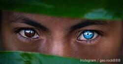 Enlace a La tribu indonesia cuyos habitantes tienen uno o dos ojos «extremadamente azules»
