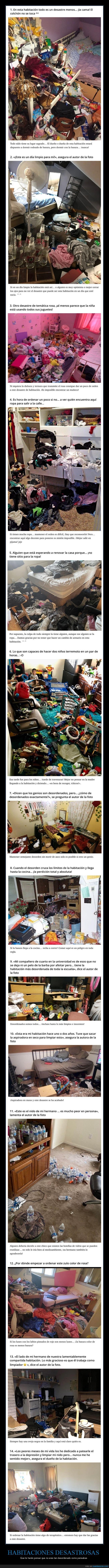 desastres,habitaciones