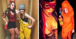 Enlace a Fotografías que muestran que en Halloween hay 2 tipos de mujeres
