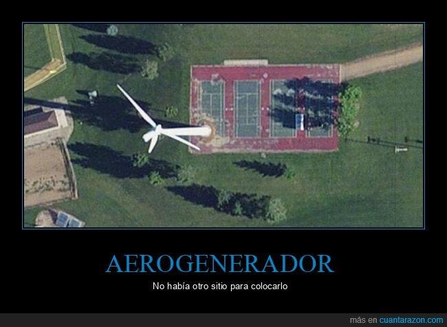 aerogenerador,pista de tenis,wtf