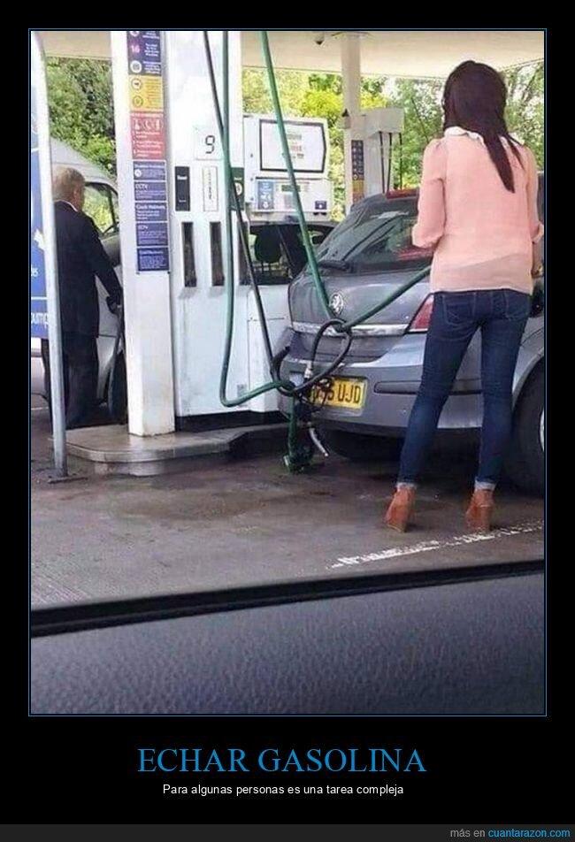 fails,gasolina,gasolinera,mangueras