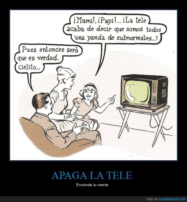 decir,televisión,verdad
