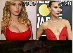 Enlace a El antes y el después de Scarlett Johansson