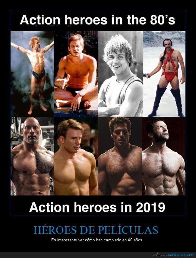 ahora,antes,héroes,películas