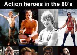 Enlace a Los héroes de acción ya no son lo que eran...